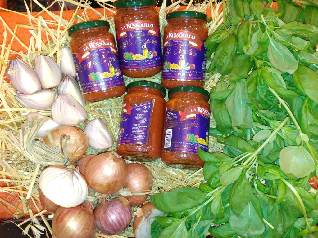 sughi pronti cipolla basilico e olio evo
