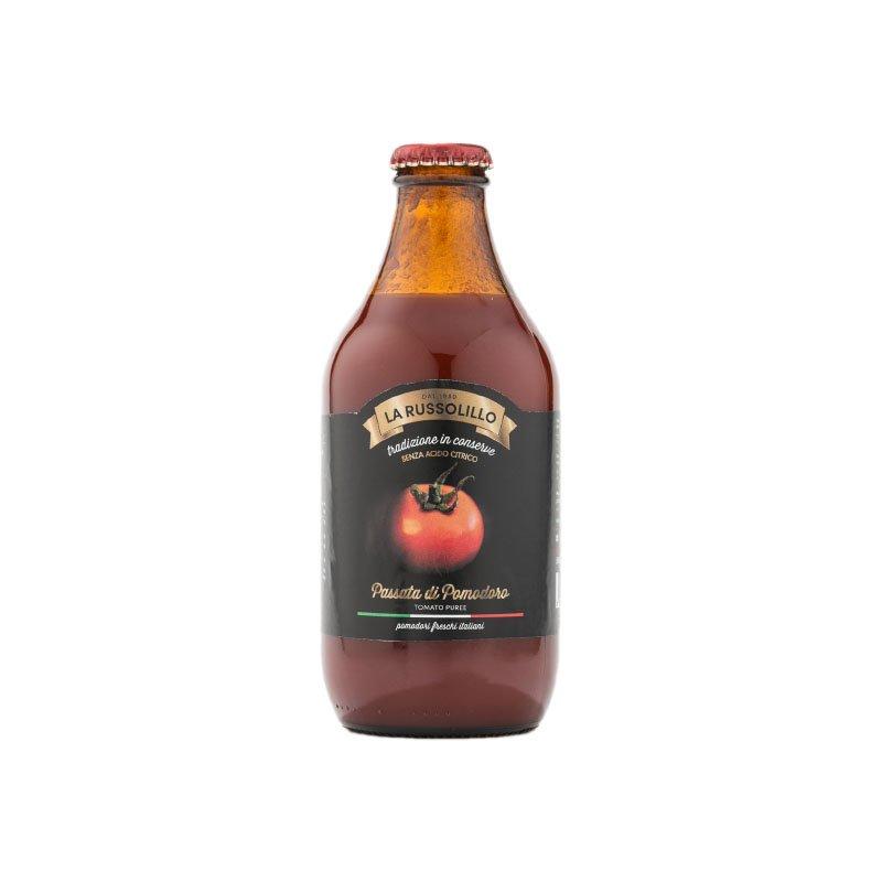 passata di pomodoro in bottiglia birra 340g