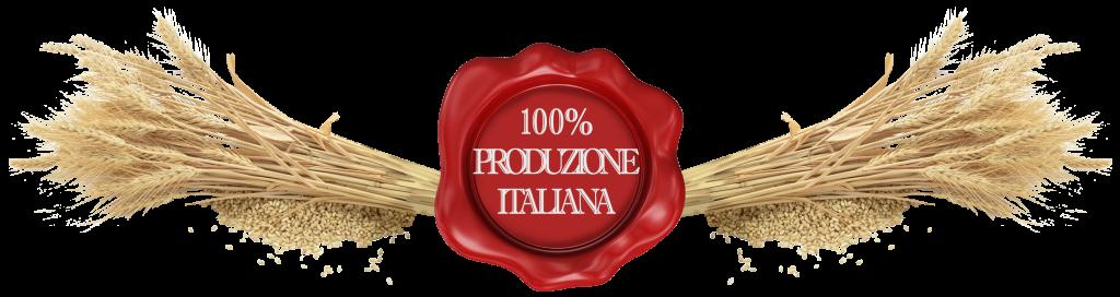 pasta produzione italiana trasparente