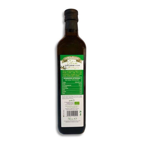 olio evo extravergine d'oliva 100% Biologico