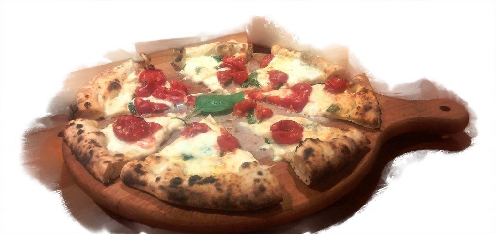 Pizza pomodoro datterino ristorazione