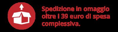 promo ecommerce Spedizione gratuita 39€
